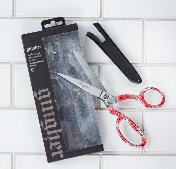"""Gingher 8"""" Evelyn Designer 2020 Series Scissors"""