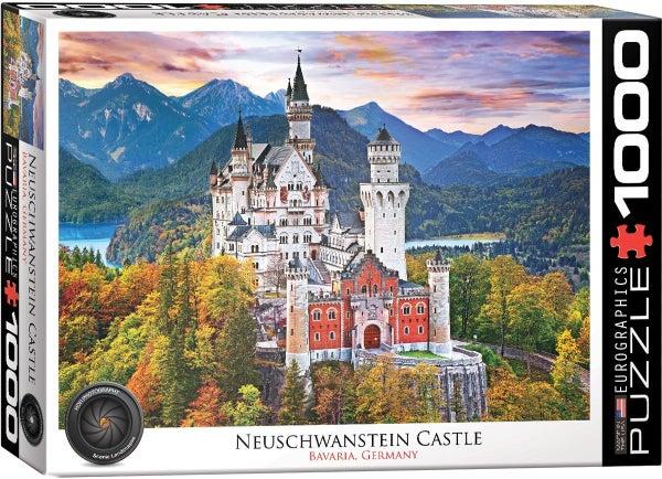 Neuschwanstein Castle 1000-Piece Puzzle