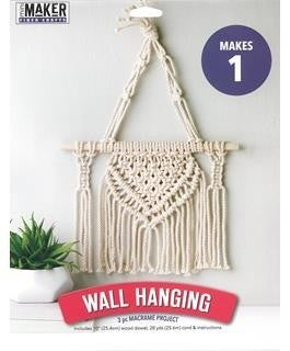 Mini Maker Macrame Wall Hanging Kit
