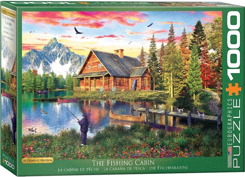 The Fishing Cabin by Dominic Davison 1000-Piece Puzzle