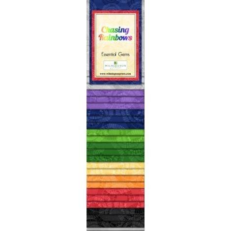 Quilting Strip Packs- Essential Gems, Chasing Rainbows