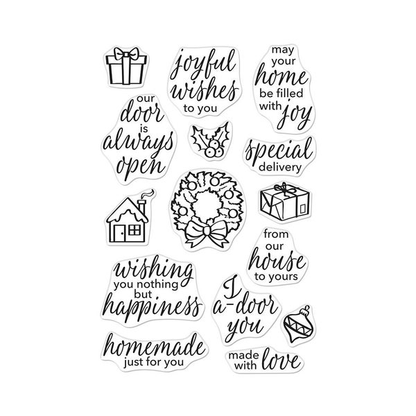 May Your Home be Filled with Joy Stamp Set by Hero Arts