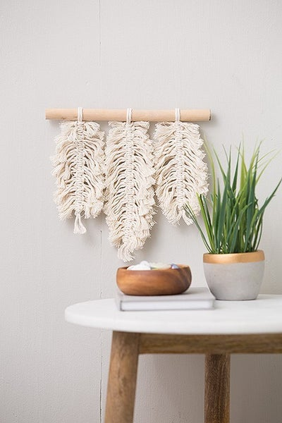 Mini Maker Macrame Feather Kit
