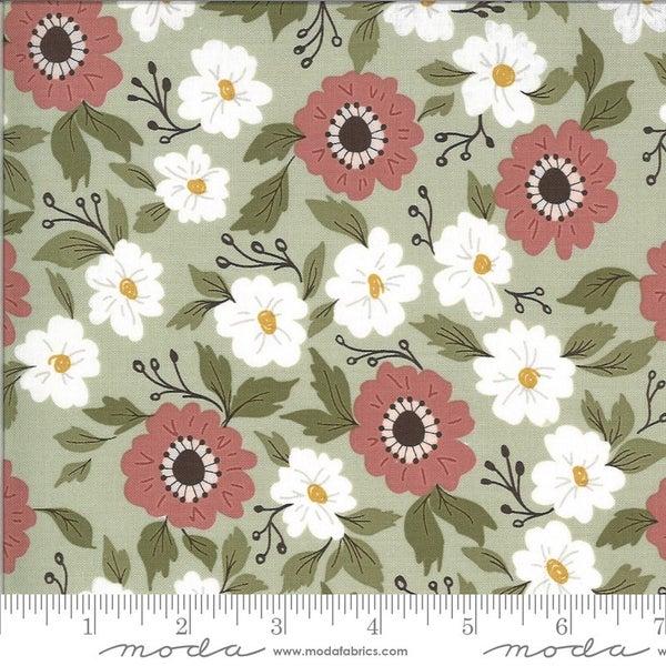 1 Yard Cut - Folktale Forest Path Sage Green - MODA Fabrics