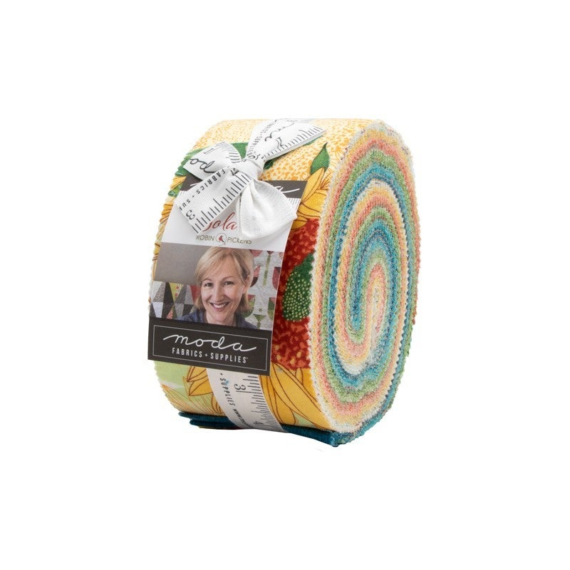 """Solana Jelly Roll - 2.5"""" Strip Pack 42 count - Designed by Robin Pickens for MODA Fabrics"""