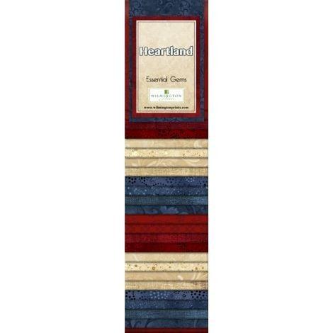 Quilting Strip Packs- Essential Gems, Heartland