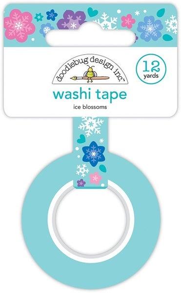 Doodlebug Design- Ice Blossoms Washi Tape