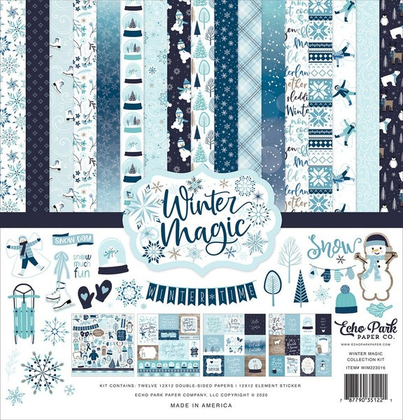 Winter Magic 12x12 Collection kit