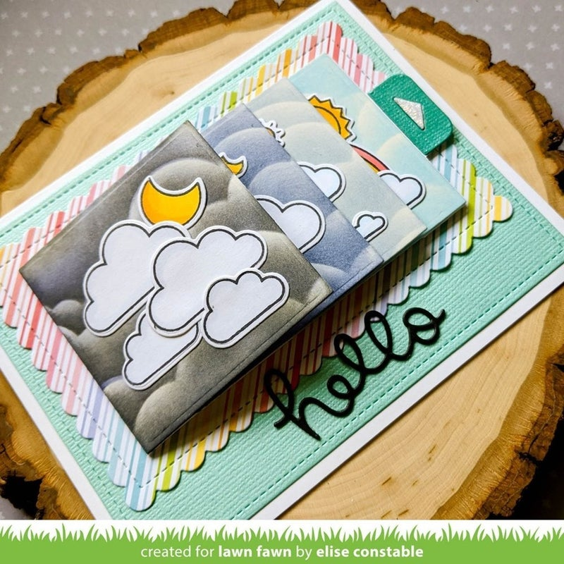 All the Clouds Stamp Set, Lawn Fawn