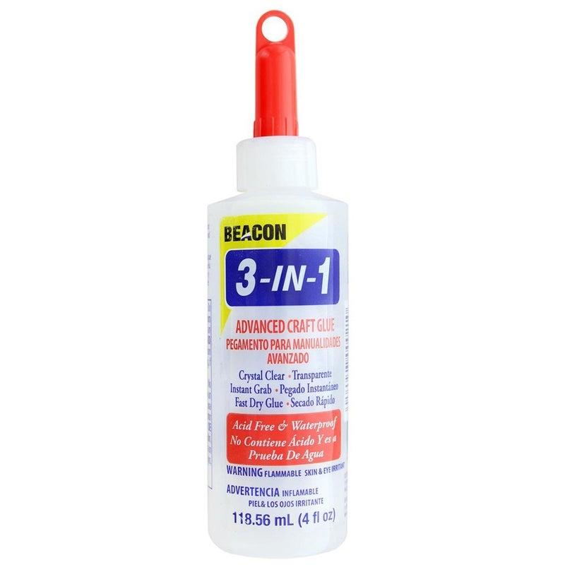 Beacon 3 in 1 Advanced Craft Glue, 4 oz.
