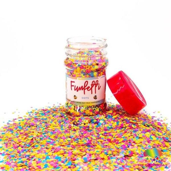 Funfetti Multi Colored Dots - The Glitter Guy