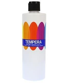 Liquid Tempera Paint, White, 16 oz.
