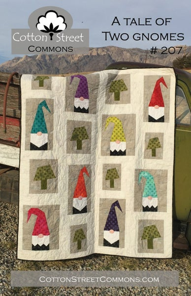 A Tale of Two Gnomes Quilting Pattern- Cotton Street Commons