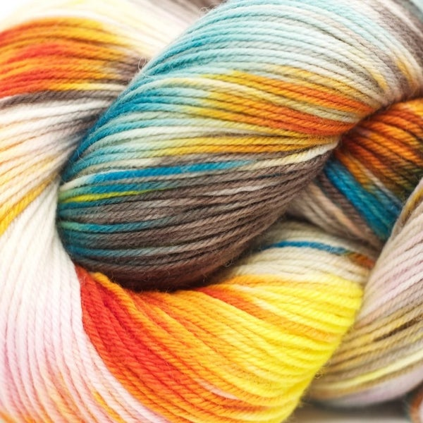 Heritage Paints 100g Skein Sock Yarn- Mod