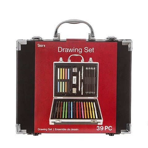 Studio 71 Artist Drawing Set, 39 pieces
