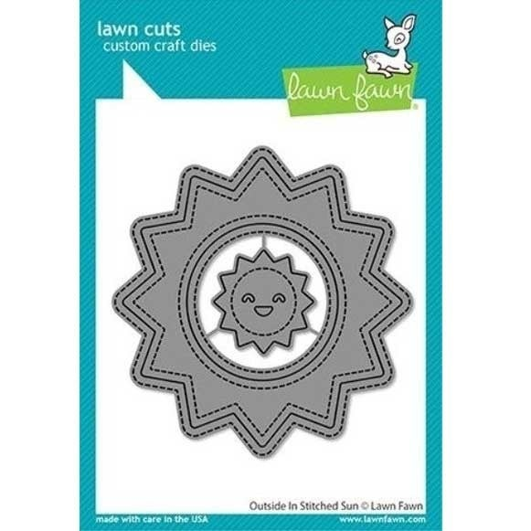 Lawn Fawn- Outside in Stitched Sun Die Cut