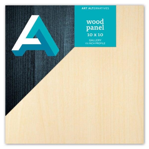 Wood Panel 10x10 inch