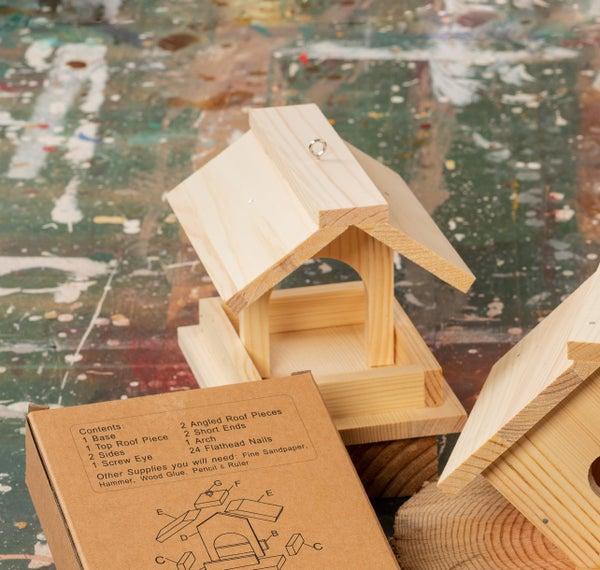 Make Your Own Birdhouse Unfinished - Gazebo