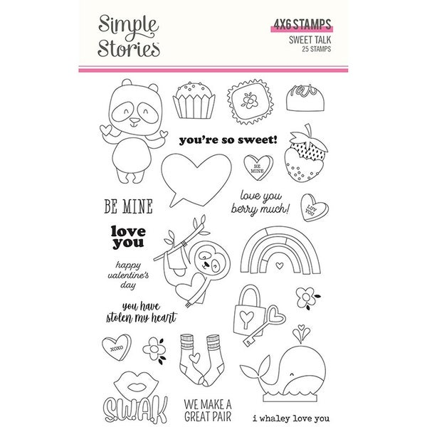 Sweet Talk Clear Stamp Set