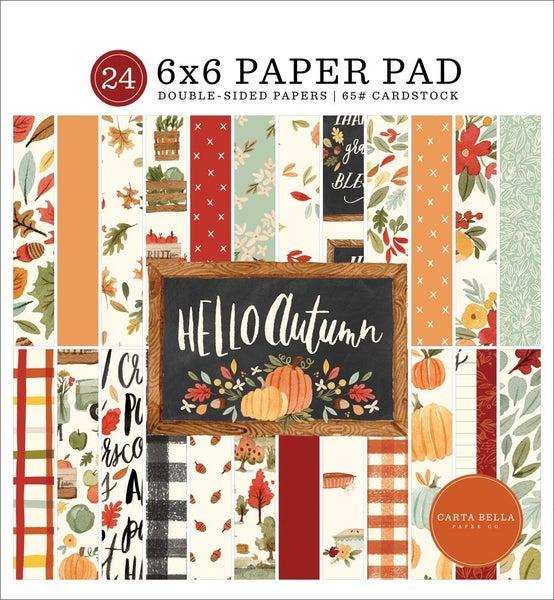 Echo Park- Hello Autumn- 6x6 Collection Paper Pad