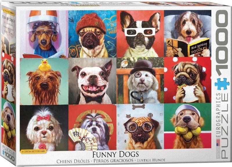 Dog Portraits by Lucia Heffernan