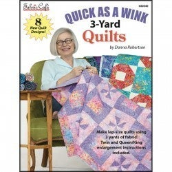 Fabric Cafe Quick as a Wink 3 Yard Quilts Book