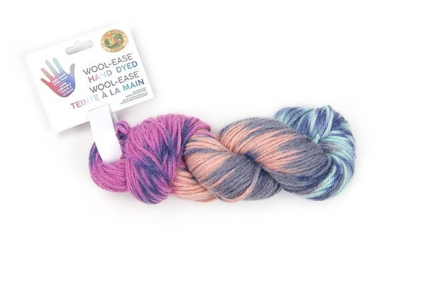 Lion Brand, Wool-Ease® Hand Dyed Yarn- Lavender Honey