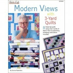Fabric Cafe Modern View 3 Yard Quilt Book