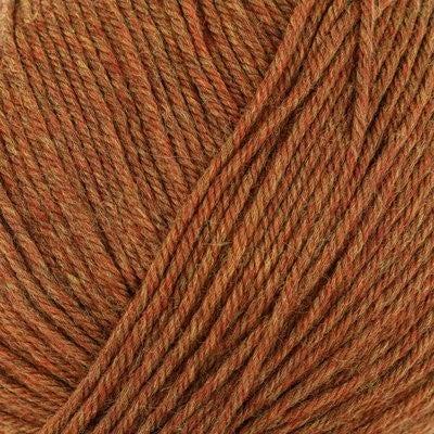 220 Superwash Copper Heather 100% Wool 220 yards