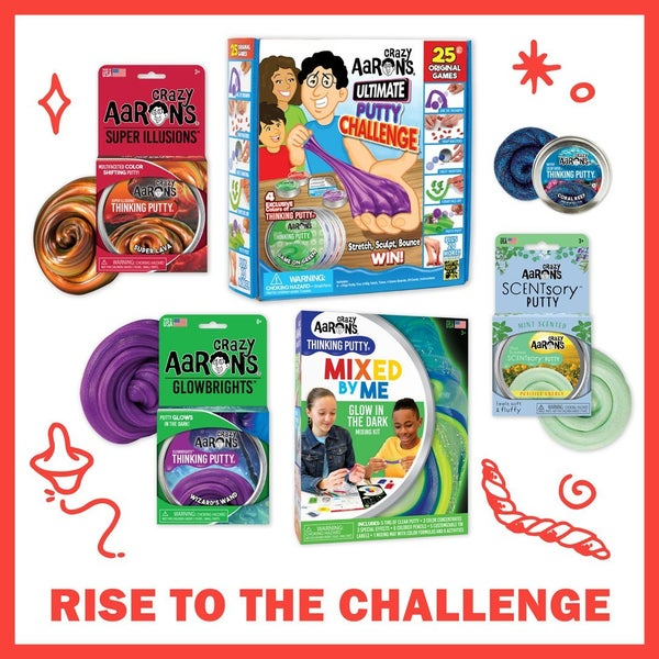 Crazy Aaron's Rise to the Challenge Thinking Putty Bundle