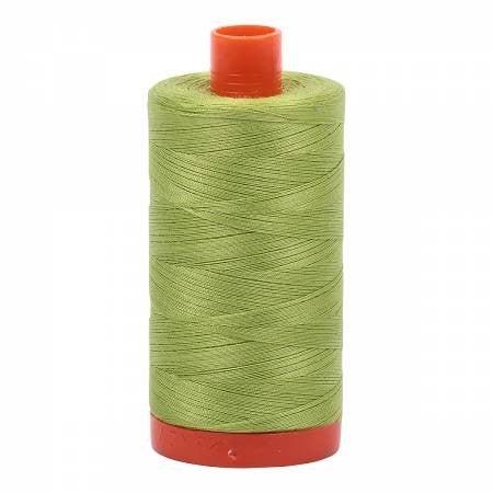 Aurifil Thread 50wt Cotton 1422 yard, Spring Green