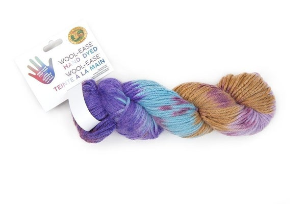 Lion Brand, Wool-Ease® Hand Dyed Yarn- PB&J
