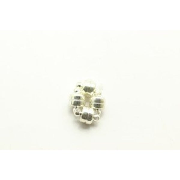 Magnetic Clasp 8mm Silver