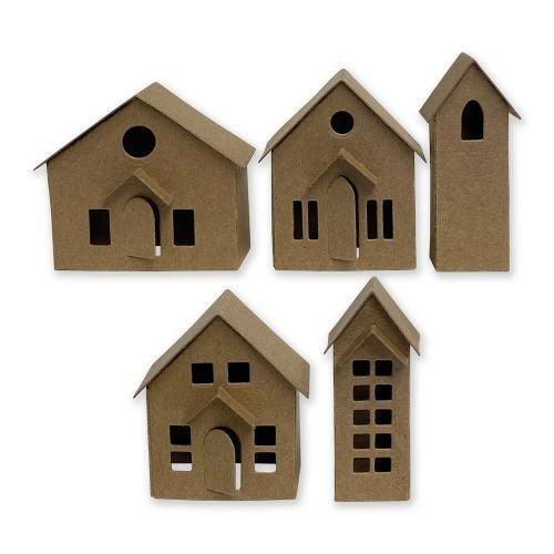 Paper Village Die set by Tim Holtz