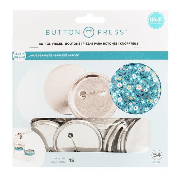 Button Press Refill Large Pack of 18