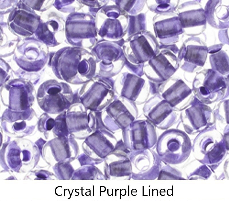 2/0 Czech Glass Seed Bead, Tube (choose from 21 colors)