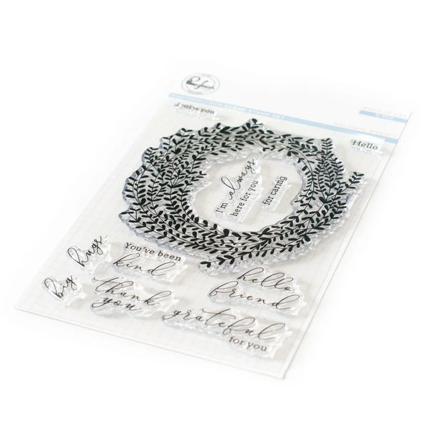 Pink Fresh Studios- Delicate Wreath Stamp Set