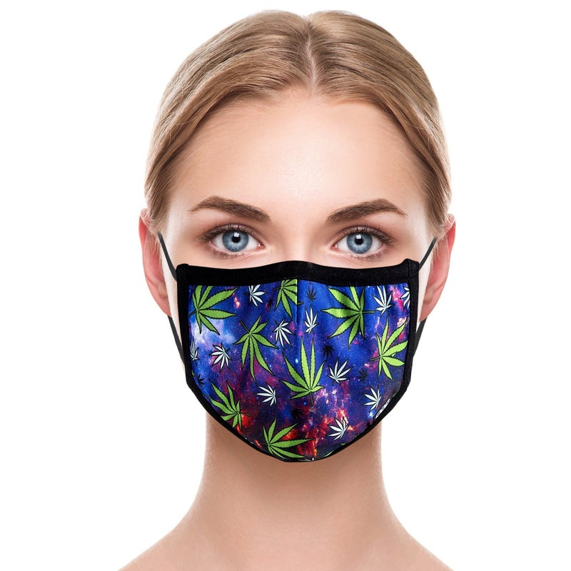 Weed Nebula Face Cover, Odd Sox