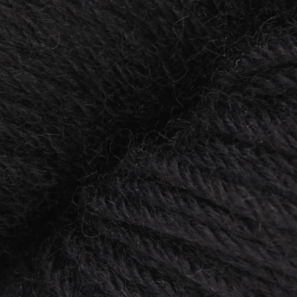 Heritage 100g Skein Sock Yarn- Real Black