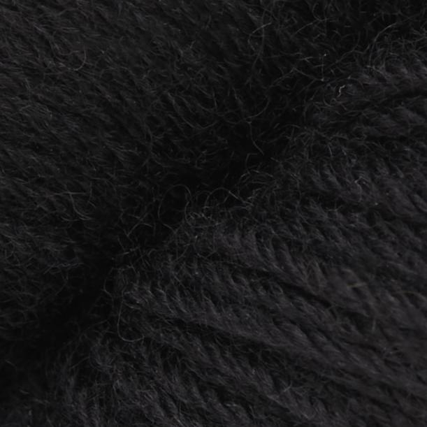 Heritage 100g Skein Sock Yarn- Real Black