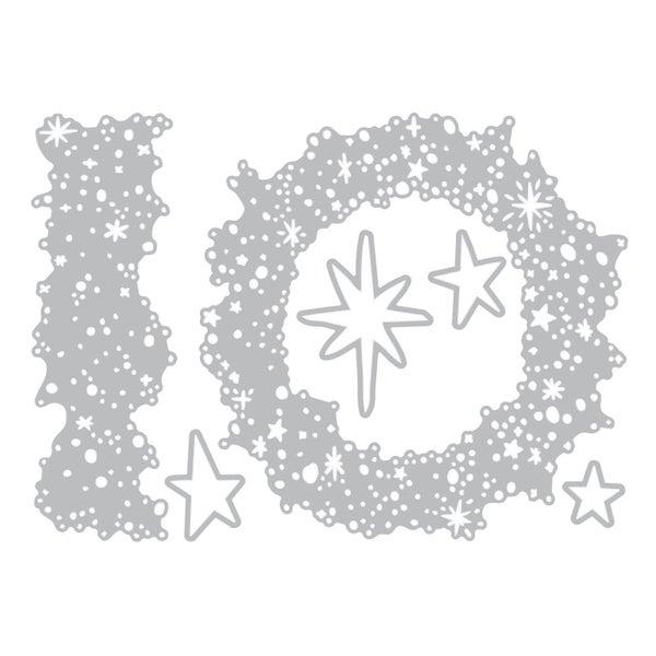 Snowy Star Die Cut Set-  Tim Holtz