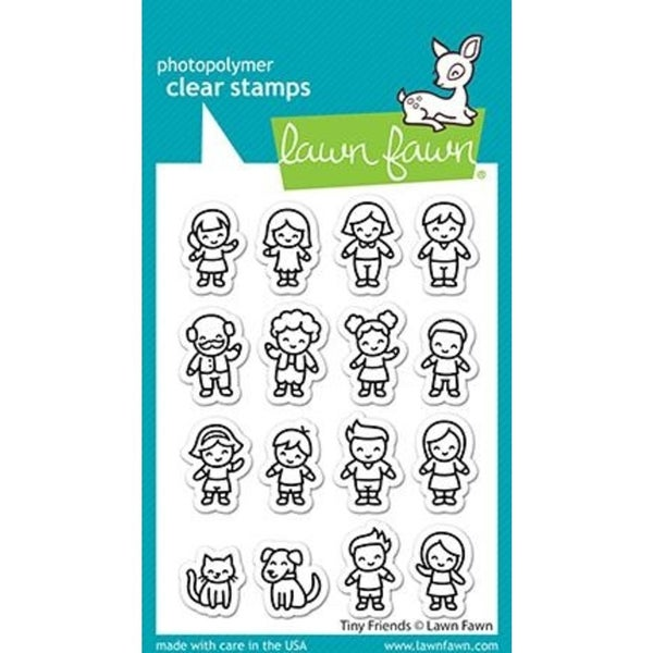 Lawn Fawn- Tiny Friends Stamp