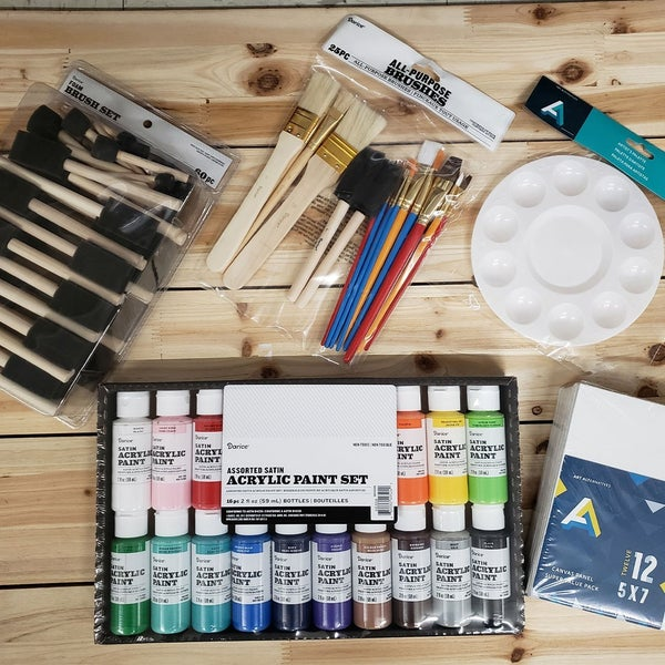 Craft Painting Supply Bundle Matte