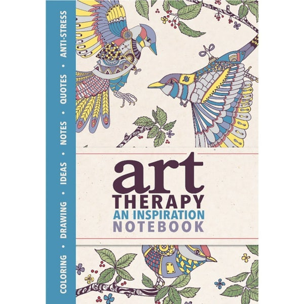 Mini- Art Therapy Inspiration Notebook