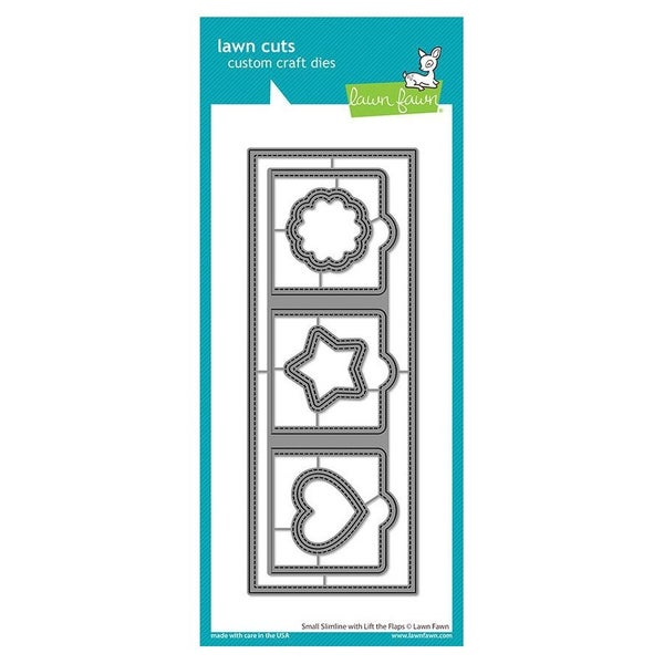 Small Slimline with Lift Flaps Die Set, Lawn Fawn