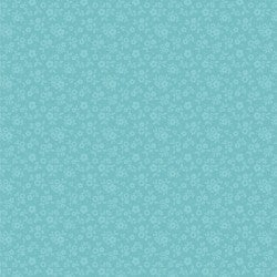 1 Yard Cut - Goose Creek Soft Breeze in Teal - Poppie Cotton