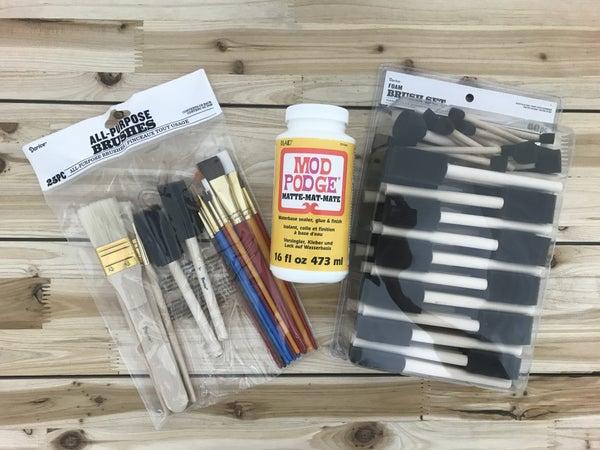 Matte 16oz. Mod-Podge and 2 Brush Set Bundle Pack