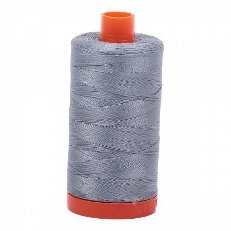 Aurifil Thread 50wt Cotton 1422 yard, Light Blue Grey