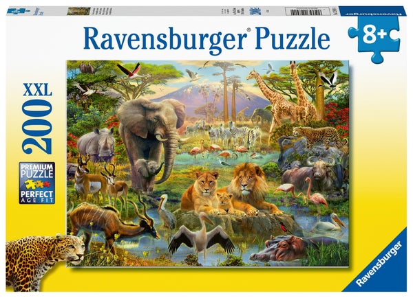 Animals of the Savanna 200 Pieces, Puzzle