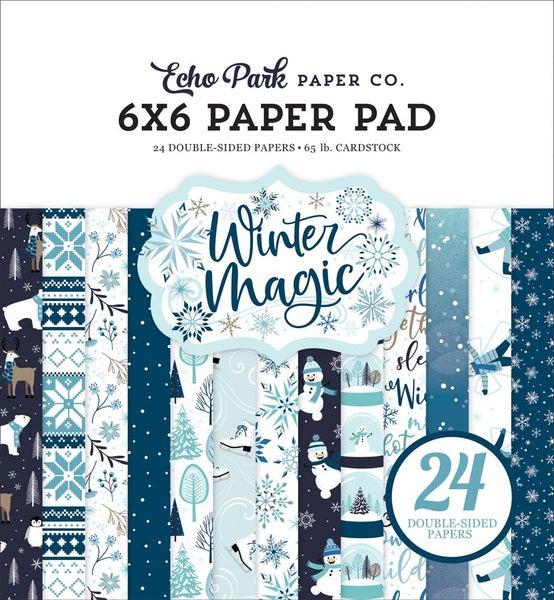 Winter Magic 6 x 6 paper pad